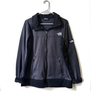 The North Face Black & Gray Zip Up Jacket XL